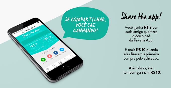 Share the App - Privalia