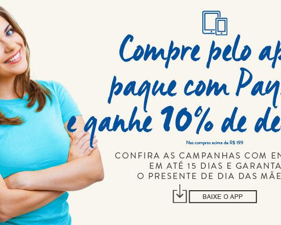 Para economizar, aproveite a Privalia App com PayPal