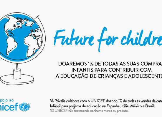 Privalia e UNICEF pela educação no Brasil e no mundo