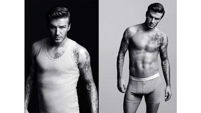 Coleção underwear David Beckham para H&M 2012