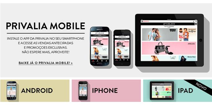 Privalia mobile mais de 1 milh o de s cios j usam o app - Privalia mobile ...
