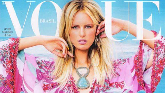 A Vogue Brasil mais vendida da história é...
