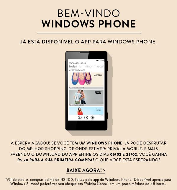 Privalia lança app para Windows Phone