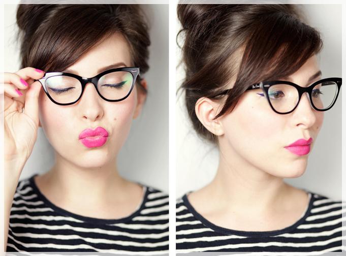 d7f395b4c2c5a Então hoje eu separei as dicas de uma blogueira super bacana e de um expert  para provar que usar maquiagem junto com o óculos pode sim! E mais que  isso