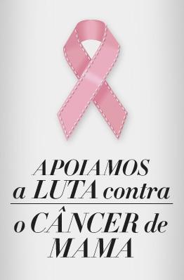 Hoje é o Dia Mundial contra o Câncer de Mama